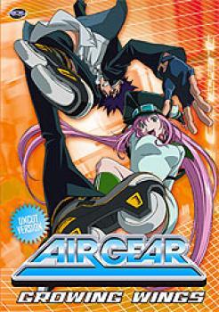 Air gear vol 02 Growing wings DVD