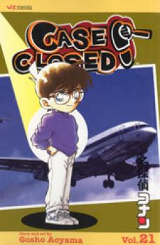 Detective Conan vol 21 Case closed GN