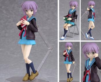 Melancholy of Haruhi Action figure - Figma Yuki Nagato Seifuku version