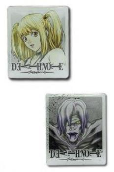 Death note Pins - Misa & Rem set of 2