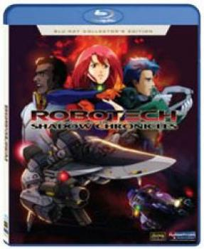 Robotech The Shadow Chronicles Movie Collector's edition Blu-Ray