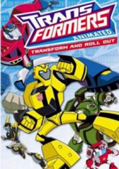 Transformers Animated Transform & Roll Movie DVD