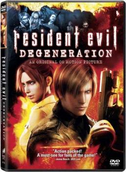 Resident Evil Degeneration Movie DVD