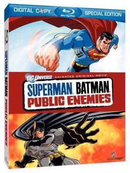 Superman/Batman Movie Public Enemy Blu-Ray