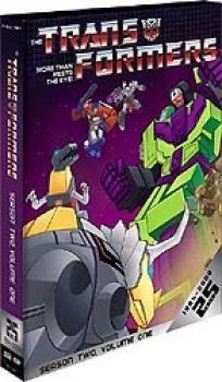 Transformers G1 Season 02 Part 01 Collection DVD box