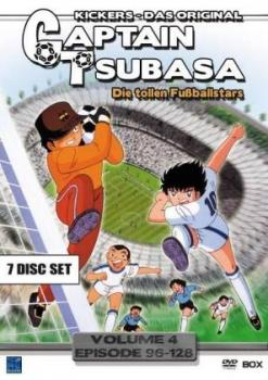 Captain Tsubasa - Die tollen Fußballstars vol 04 DVD