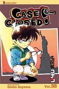 Detective Conan vol 35 Case closed GN