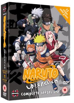 Naruto Unleashed - Series 01 - Complete DVD