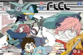 FLCL Foolie Coolies Complete Collection DVD UK