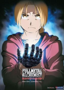 Fullmetal Alchemist Brotherhood Part 01 DVD