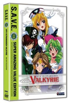 UFO Ultramaiden Valkyrie Season 3+4 Complete Collection S.A.V.E. DVD