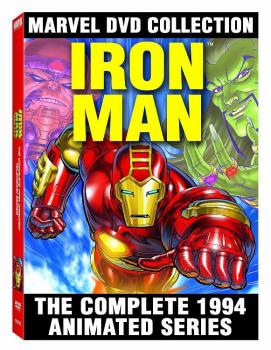 MARVEL IRON MAN COMPLETE ANIMATED SERIES DVD (NET)