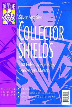 COMIC DEFENSE SYSTEM SILVER AGE BAGS (100) (COLLECTOR GRADE)