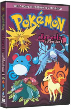 Pokemon Elements Collection 01 DVD