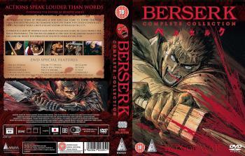 Berserk Complete boxset DVD PAL UK
