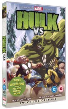 Hulk Vs Wolverine Vs Thor DVD UK