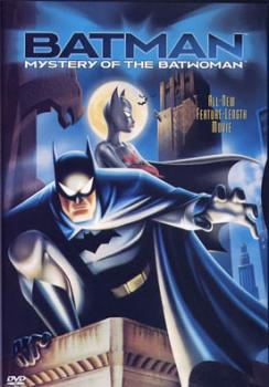 Batman - Mystery Of The Batwoman DVD UK
