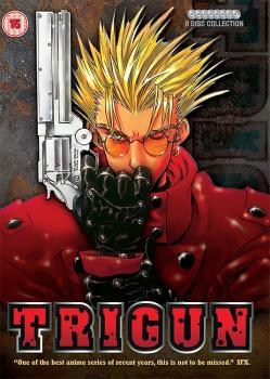 Trigun - Complete Collection DVD box UK