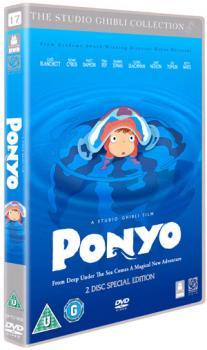Ponyo DVD UK