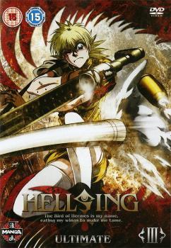Hellsing ultimate vol 03 DVD PAL UK