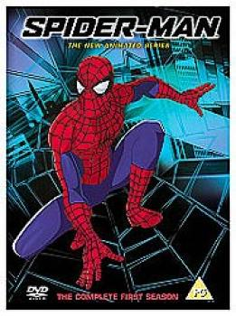 Spider-Man - The Animated Series DVD UK