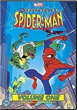 Spectacular Spider-Man vol 01 DVD UK