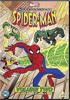 Spectacular Spider-Man vol 02 DVD UK