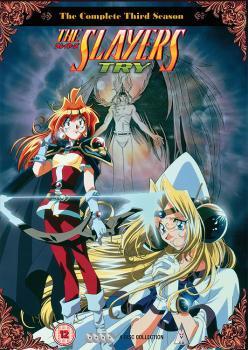Slayers Season 03 Try DVD Collection UK