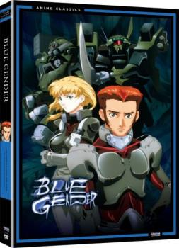 Blue Gender Complete Collection + Movie DVD Box Set Classic Line