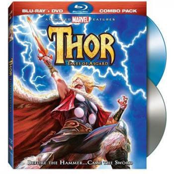 Thor Tales of Asgard Animated Movie Blu-Ray/DVD Combo