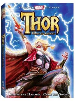 Thor Tales of Asgard Animated Movie DVD