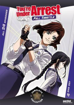 You're Under Arrest Season 03 Complete Collection - Full Throttle DVD Box Set