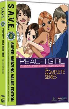 Peach Girl Complete Collection S.A.V.E. DVD Box Set