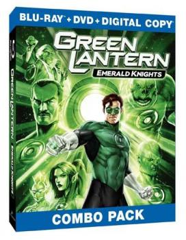 Green Lantern Emerald Knight Blu-Ray