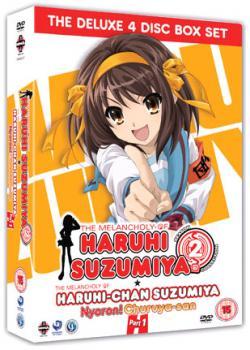The Melancholy Of Haruhi Suzumiya Complete Series 02 DVD UK