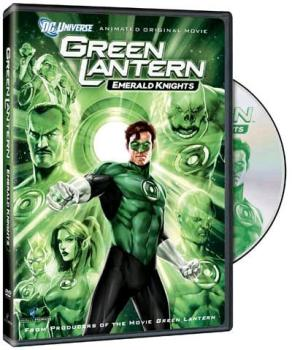 Green Lantern Emerald Knight DVD