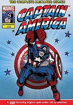 Captain America - The Complete Series DVD UK