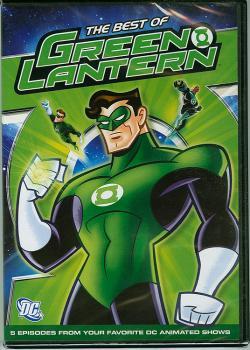 BEST OF GREEN LANTERN ANIMATED DVD