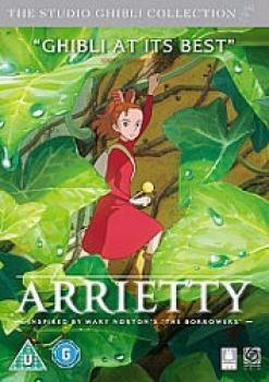 Arrietty DVD UK