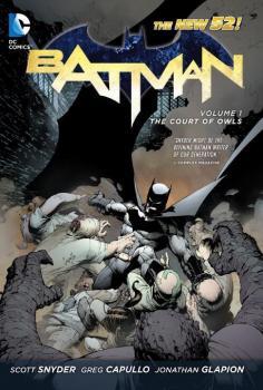 BATMAN VOL. 01: THE COURT OF OWLS (N52) (HARDCOVER)