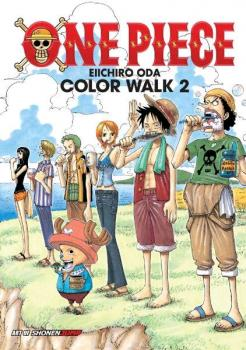 One Piece Illustration book Color Walk 02