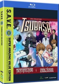 Tsubasa Tokyo Revelations / Spring & Thunder OVAs (S.A.V.E.) Blu-Ray