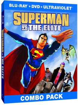 Superman - Superman Vs. The Elite Blu-Ray/DVD Combo