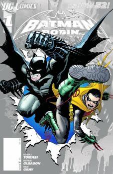 BATMAN AND ROBIN #0