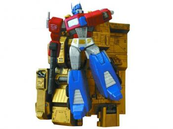 Transformers Optimus Prime Wall Statue (damaged box)