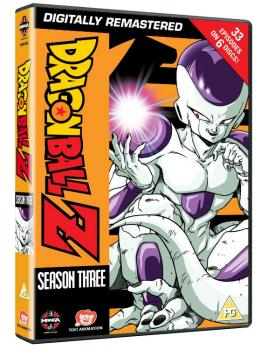 Dragonball Z Complete Season 03 DVD UK