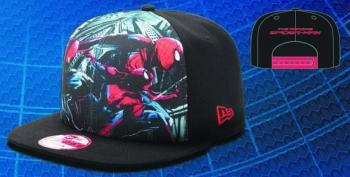 AMAZING SPIDER-MAN SUB FRONT SNAPBACK CAP