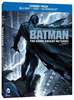 Batman The Dark Knight Returns Part 01 Blu-Ray/DVD Combo/Ultravoilet Combo