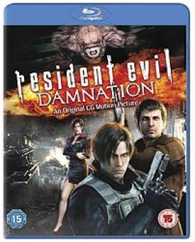 Resident Evil Damnation Blu-Ray UK