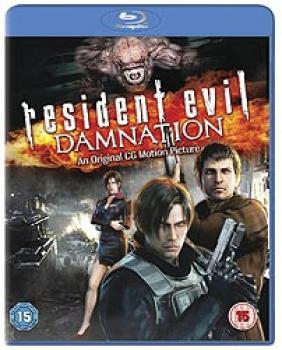 Resident Evil Damnation Blu-Ray UK
